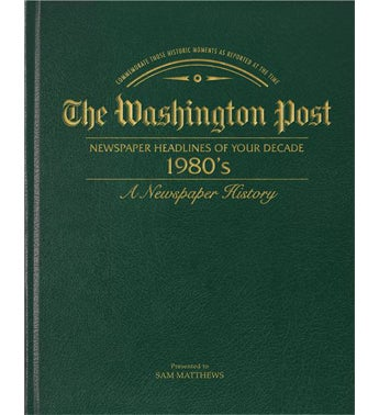 Washington Post 80s Decade Book