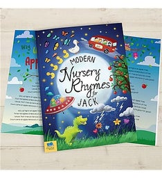 Personalized Book of Modern Nursery Rhymes