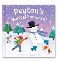 My Magical Snowman Personalized Storybook
