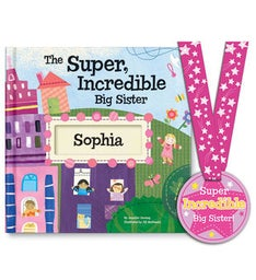 The SuperIncredible Big Sister Storybook  Medal