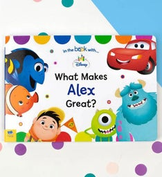 Personalized What Makes Me Great Board Storybook