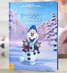 Personalized Olafs Frozen Adventure Storybook