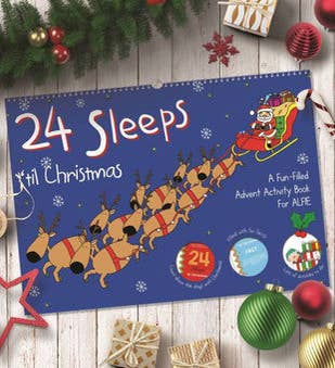 Personalized Supersize 24 Sleeps til Christmas
