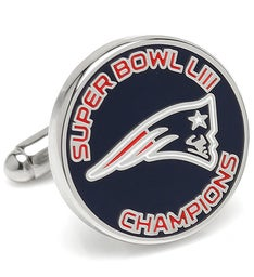 2019 New England Patriots Super Bowl Cufflinks