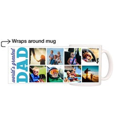 Personalized Greatest Dad Simple Magic Mug