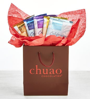 Chuao California Bar Collection in Red Gift Bag