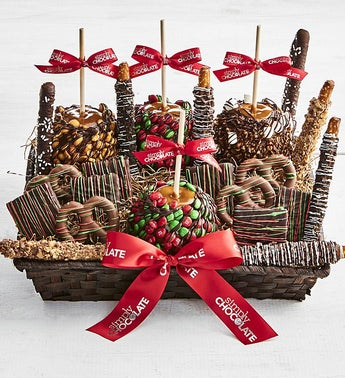 Simply Chocolate Christmas Cravings Basket