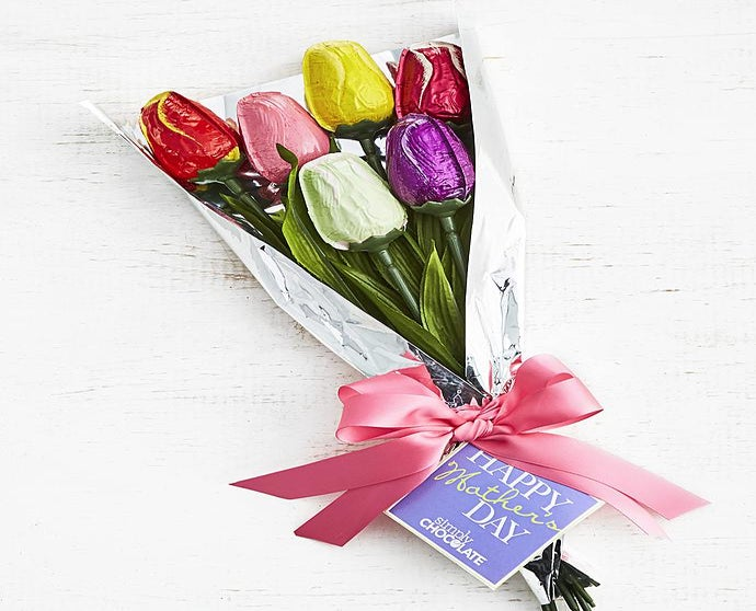 Mothers Day Tulip Bouquet >> Simply Chocolate Mother S Day Tulip Bouquet Simplychocoalte Com
