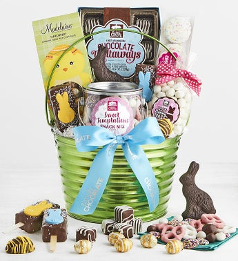 Simply Chocolate Exclusive Happy Easter Basket