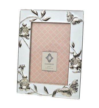 Butterfly & Flowers Frame