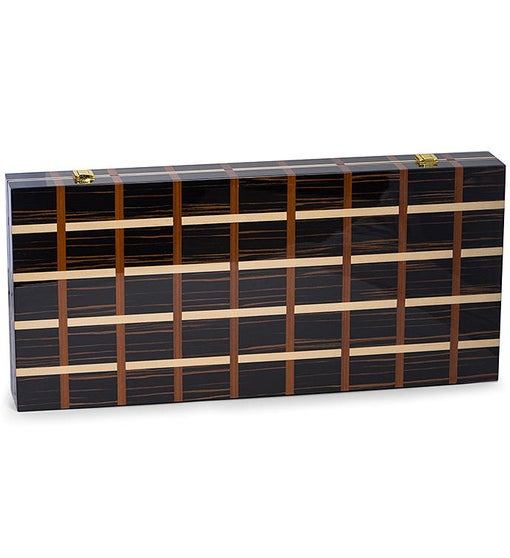 Art Deco Backgammon Set Deluxe