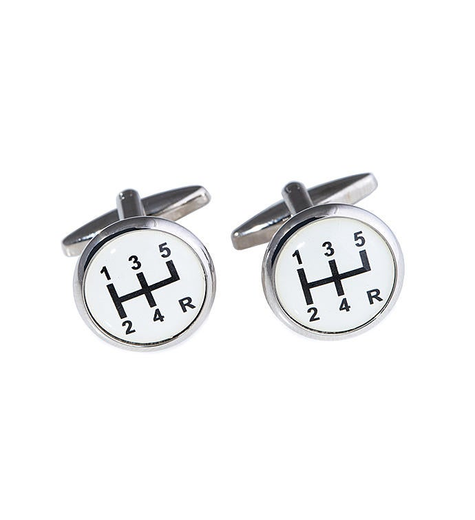Gear Shifter Cufflinks