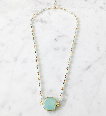 Mrs Parker Endless Summer Necklace Chalcedony