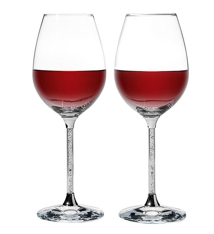 Crystal Wine Glasses Set 185 oz