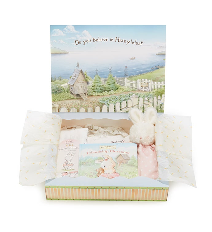 Welcome Baby Girl Set