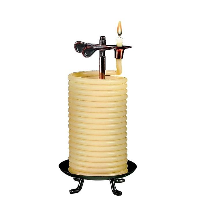 Self Extinguishing Coil Candle Unscented 80 Hour