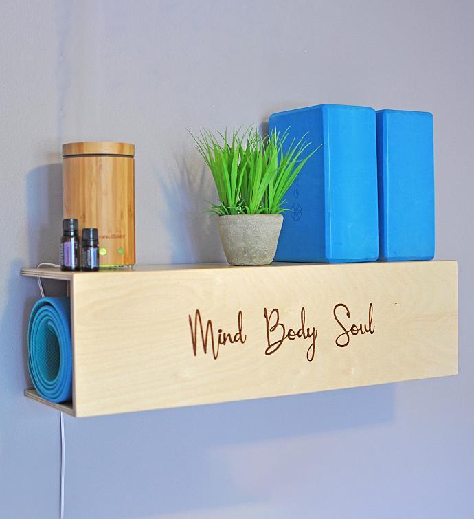 Yoga Mat Storage  Display