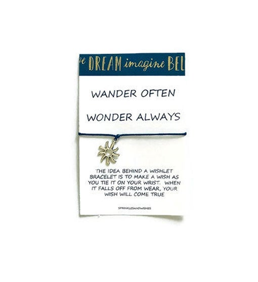 Travel Wander Wish Bracelet