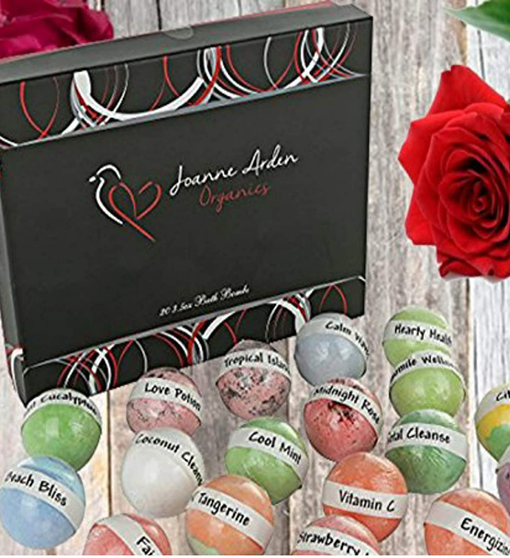 Joanne Arden Organics Usa Vegan Bath Bombs Kit