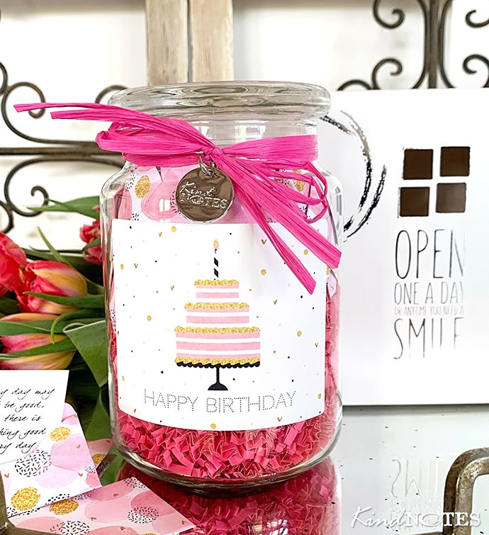 Jar Of Smiles By Kindnotes - Happy Birthday
