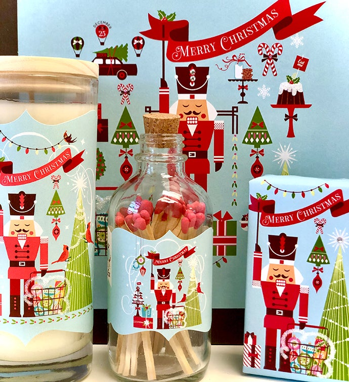 Gift Box Nutcracker