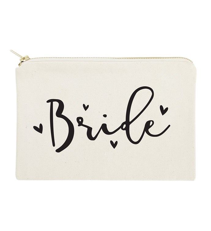 Wedding Makeup Bag  Travel Pouch