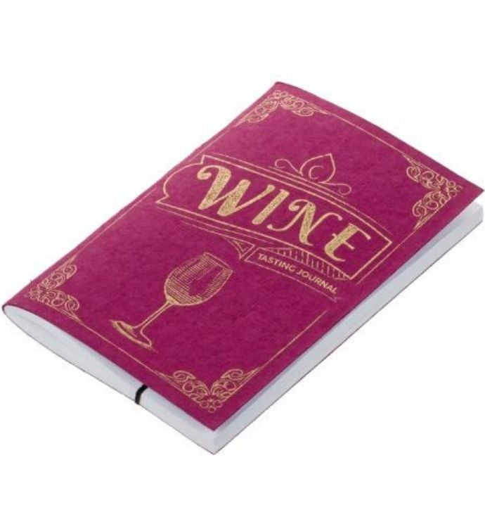 Handmade Wine Tasting Pocket Journal