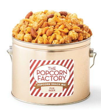 Pub Beer Popcorn Snack Mix