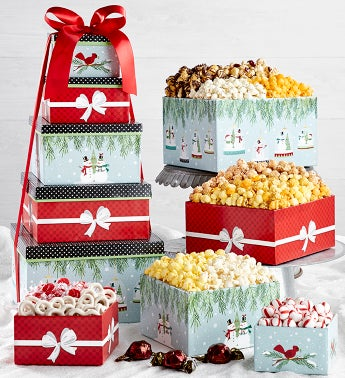 Magical Holiday 5-Tier Gift Tower